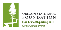 Oregon State Parks Foundation - Free 12 month parking permit with new membership